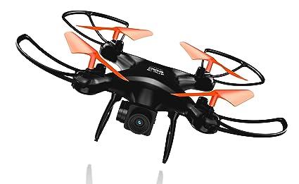 GOCLEVER Sky Eagle dron con cámara Cuadricóptero Negro 4 rotores ...