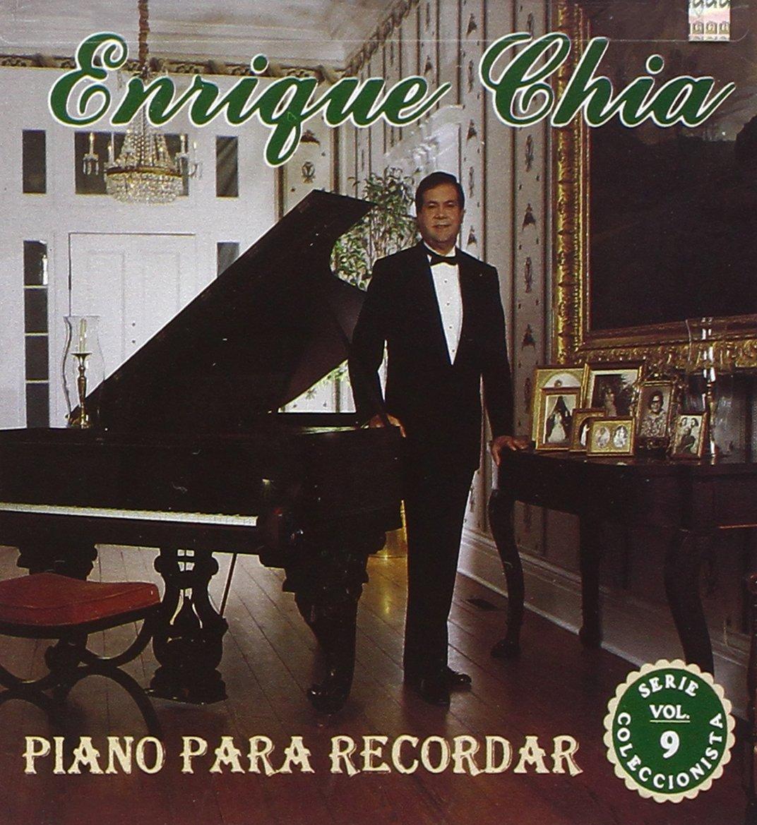 CD : Enrique Chia - Piano Recordar 9 (CD)