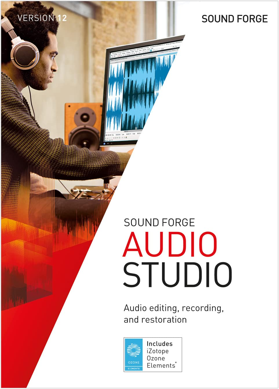 SOUND FORGE Audio Studio – Version 12 – audio editor including mastering plug-in. [Download]