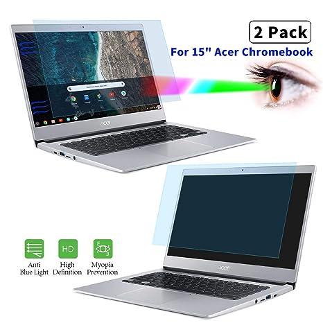 Acer Aspire E15 - Juego de 2 protectores de pantalla ...