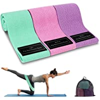Cocoda Bandas Elasticas Musculacion, 3 Piezas Bandas Elásticas Fitness con 3 Niveles para Piernas/Glúteos/Muslos, Cadera…