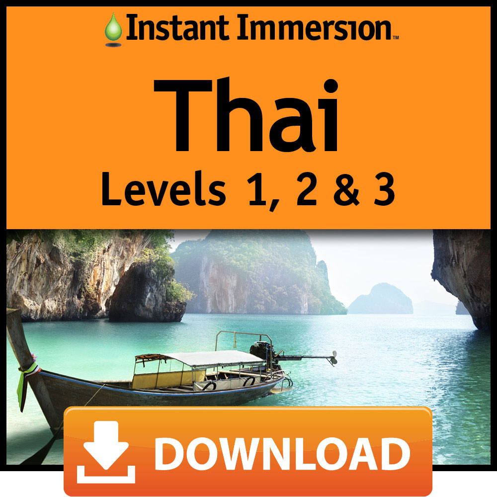 Instant Immersion Thai Levels 1, 2 & 3 [Online - Online Shopping Central