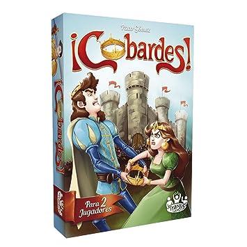 Tranjis Games - ¡Cobardes! - juego de cartas (TRG-03cob)