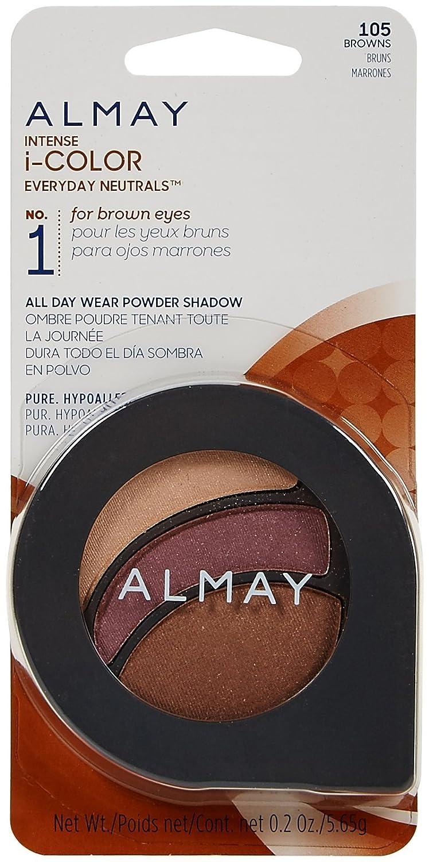 Amazon.com : Almay Intense i-Color Everyday Neutrals - Browns (105) - 0.2 oz : Beauty
