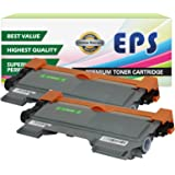 2-Pack EPS Replacement Compatible Toner Cartridge for Brother TN450 (Black)