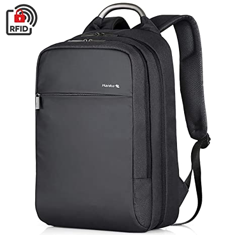 84eb0700669d Hanke Laptop Backpack, Durable Anti-Theft Business Travel Backpack Bag for  Women & Men,Casual Daypack Water Resistant Collage School 15.6 in Computer  ...