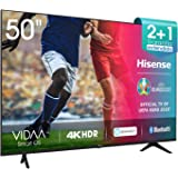 Hisense UHD TV 2020 50AE7000F - Smart TV Resolución 4K con Alexa integrada, Precision Colour, escalado UHD con IA, Ultra…