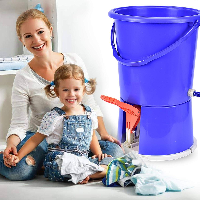 Manual Washing Machine - wuyule Portable Laundry Machine Manual Non-Electric Portable Clothes Washer Dark Blue
