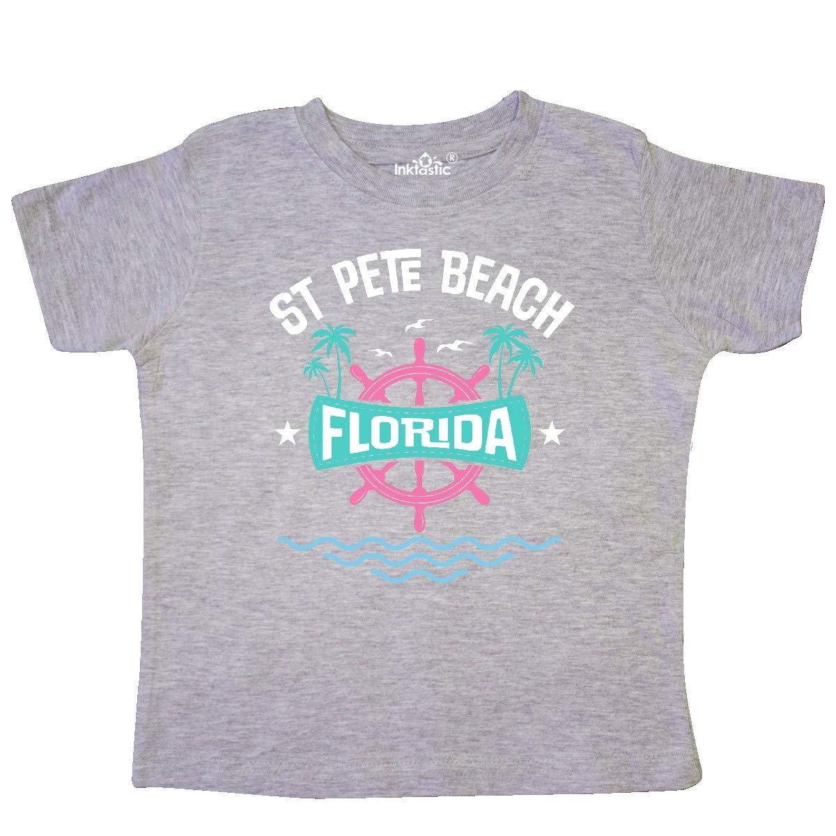 inktastic St Pete Beach Florida Toddler T-Shirt