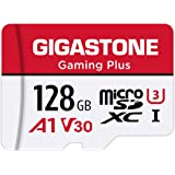 Gigastone 128GB Micro SD Card, Gaming Plus, Nintendo-Switch Compatible, High Speed 100MB/s, 4K UHD Video Recording, Micro SDX
