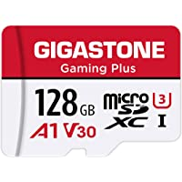 Gigastone 128GB Micro SD Card, Gaming Plus, Nintendo-Switch Compatible, High Speed 100MB/s, 4K UHD Video Recording…
