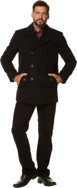 JP 1880 Mens Big /& Tall Pea Jacket 700196