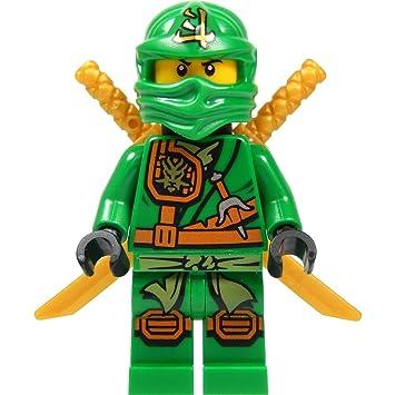 LEGO Ninjago - Minifigura Lloyd Garmadon (ninja verde) con ...
