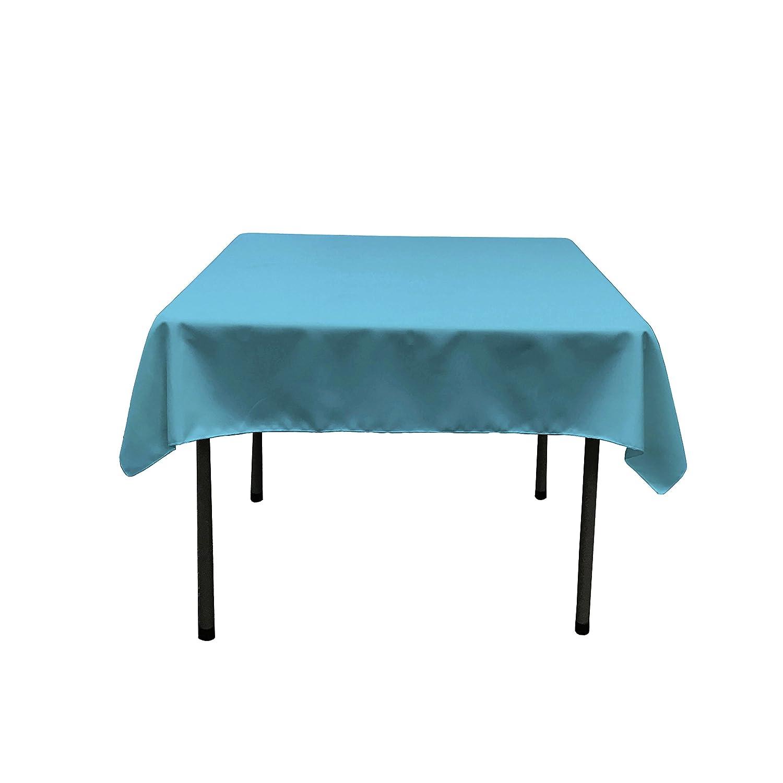Amazon.com: LinenTablecloth 52 Inch Square Ambassador Tablecloth White:  Home U0026 Kitchen