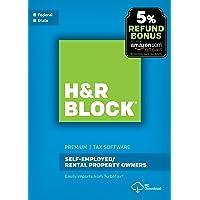 H&R Block Tax Software Premium 2017 with 5% Refund Bonus Offer [PC Download]