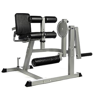 Pro Heavy Duty sentado pierna Curl y Quads cuádriceps Prensa Máquina de extensión XS Deportes: Amazon.es: Deportes y aire libre