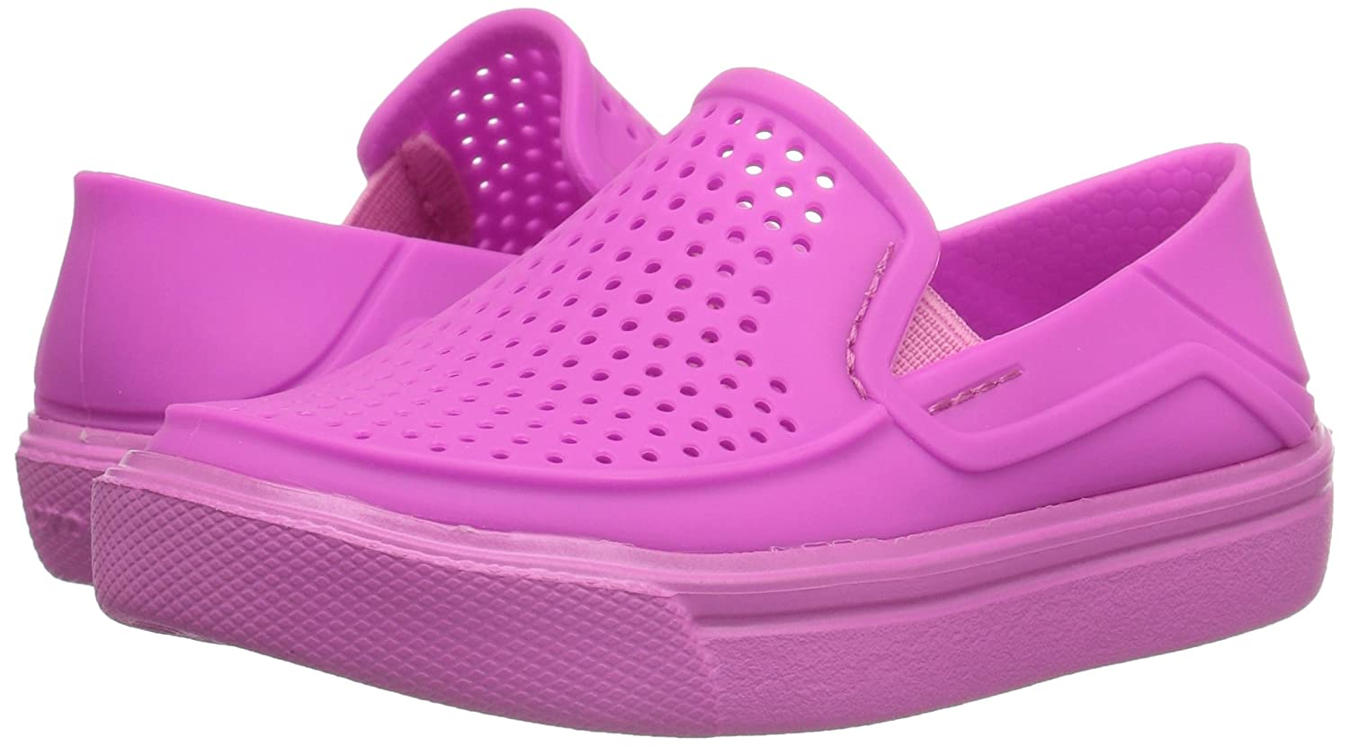 Easy On Comfort Athletic Shoe for Toddlers Easy On Comfort Athletic Shoe for Toddlers Boys Crocs Kids Citilane Roka Slip On Sneaker Lightweight Crocs Kids/' Citilane Roka Slip On Sneaker Girls