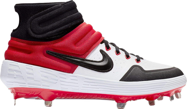 29520a78bd5 Amazon.com: Nike Men's Alpha Huarache Elite 2 Mid Baseball Cleats ...