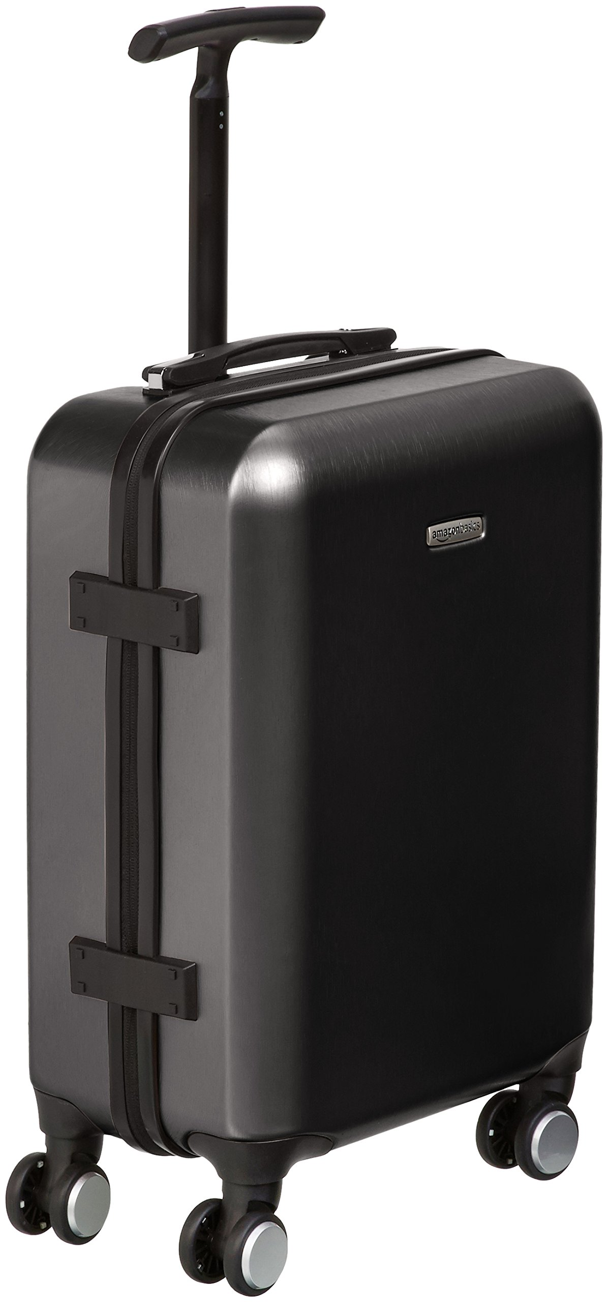 AmazonBasics Hardshell Carry-On Spinner Luggage Suitcase with TSA Lock - 20 Inch, Black