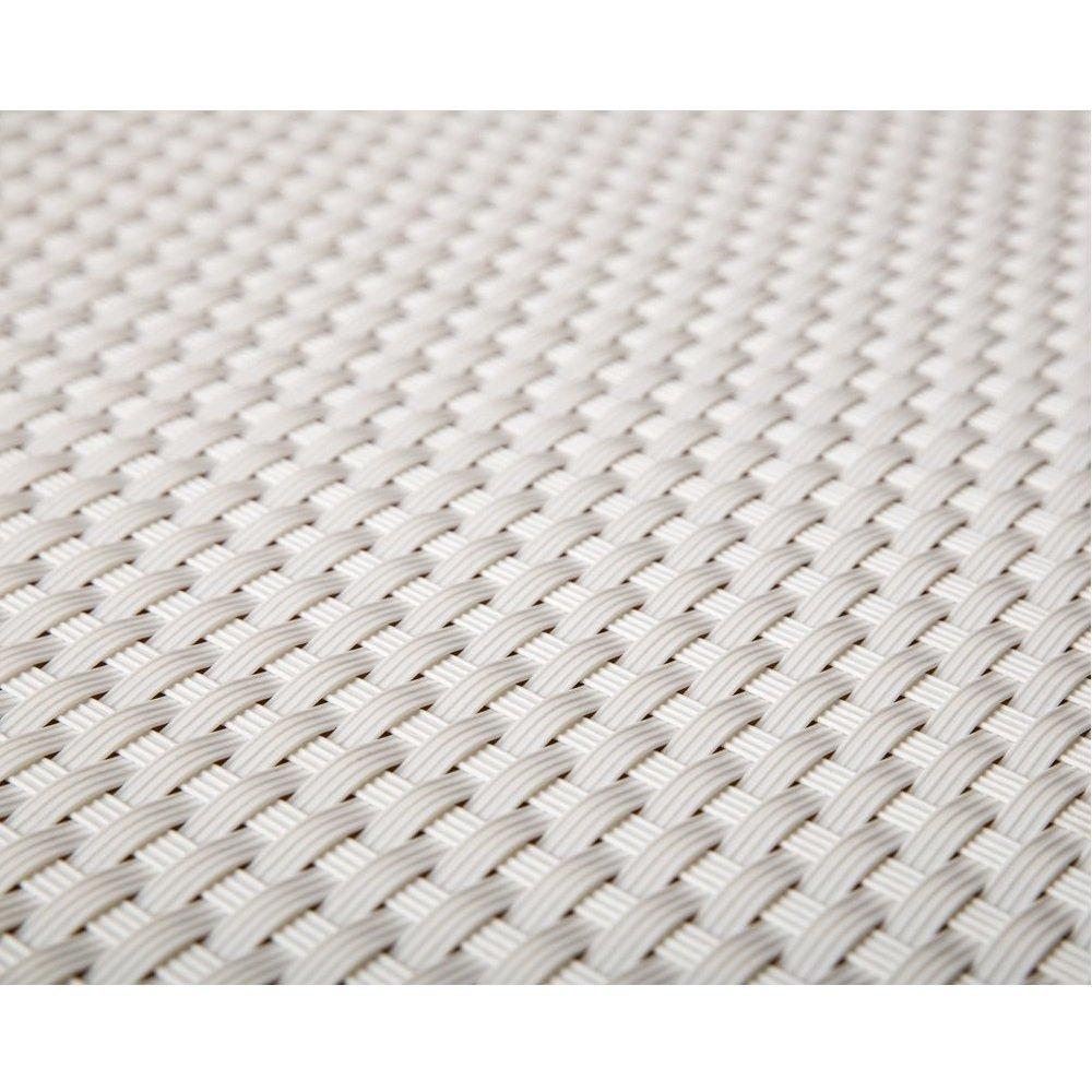 Viva-Haushaltswaren - 5 Meter hochwertiger Balkonsichtschutz / Zaunblende aus Polyrattan - Höhe 1 Meter / Farbe: weiß