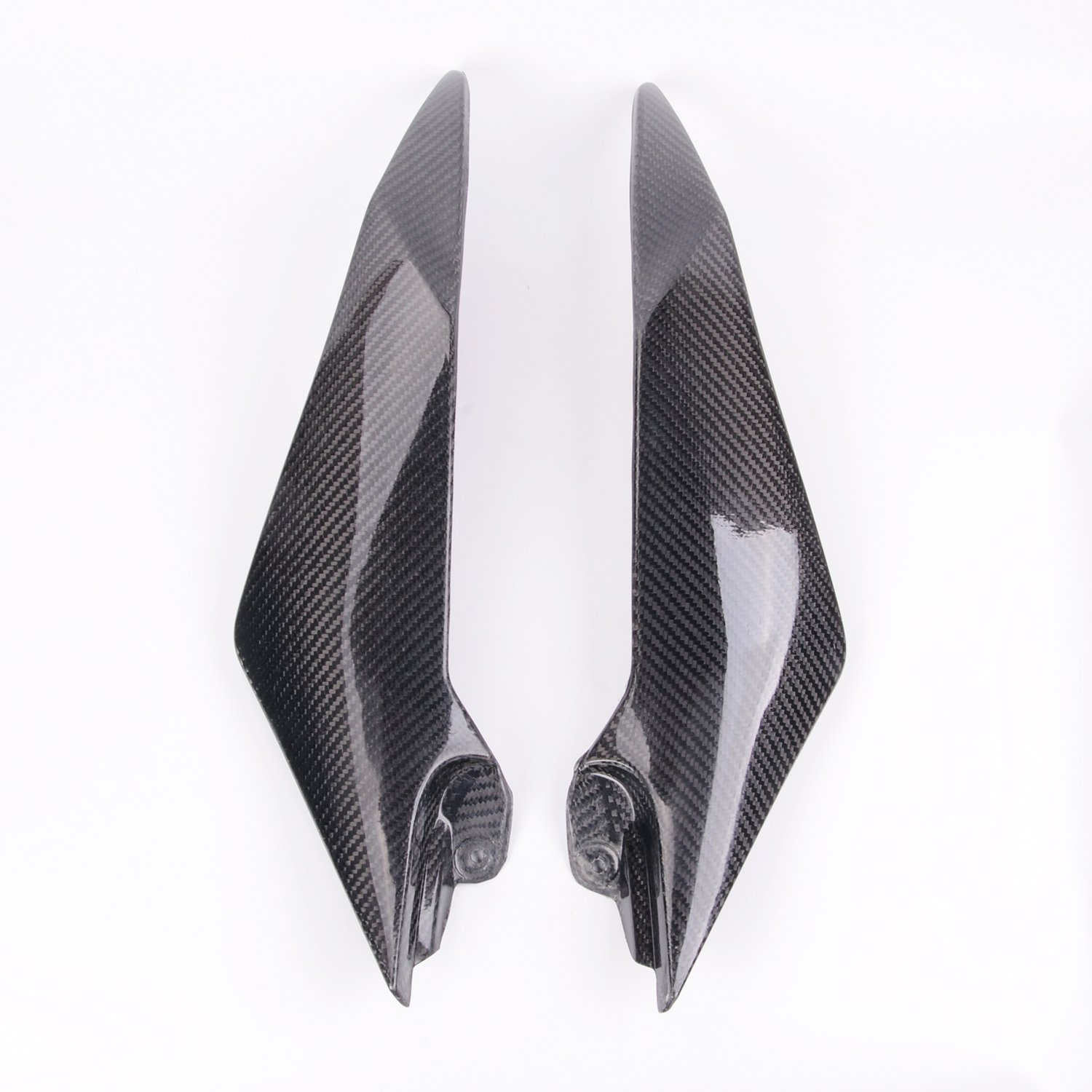 Sunny New Carbon Fiber Tank Side Covers Panels Fairing For Yamaha YZF R6 08-2015 09 10
