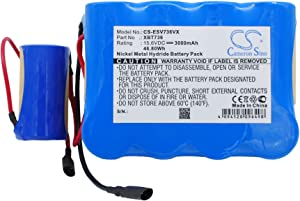 CS Vacuum Battery for Shark SV736 SV75 SV73 SV75, Replacement for P/N XBP736 3000mAh / 46.80Wh