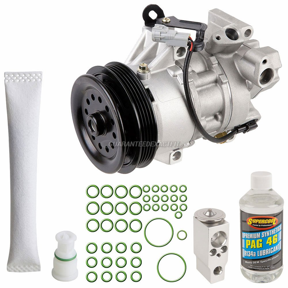 Amazon.com: AC Compressor w/A/C Repair Kit For Scion xA & xB - BuyAutoParts 60-81570RK NEW: Automotive