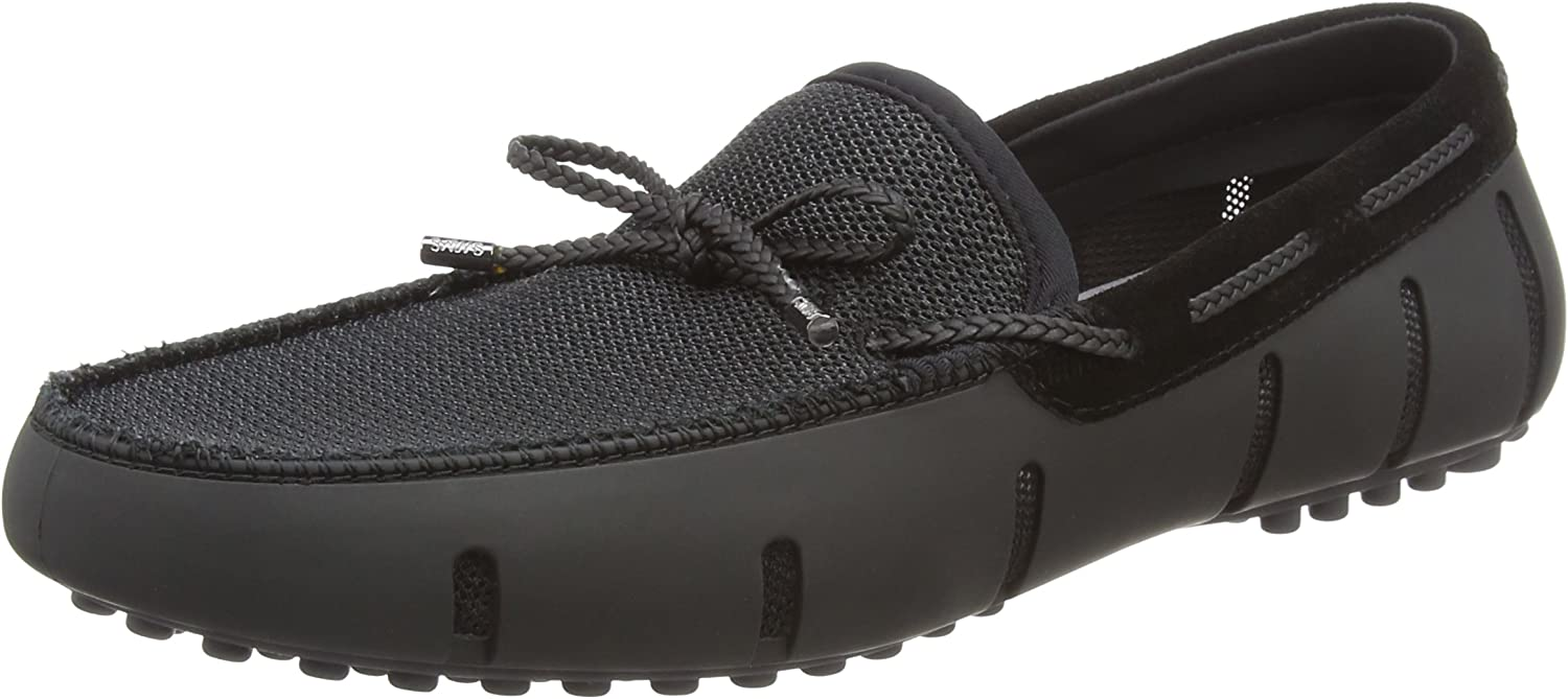 SWIMS Braided Lace Lux Loafer Driver, Mocasines para Hombre