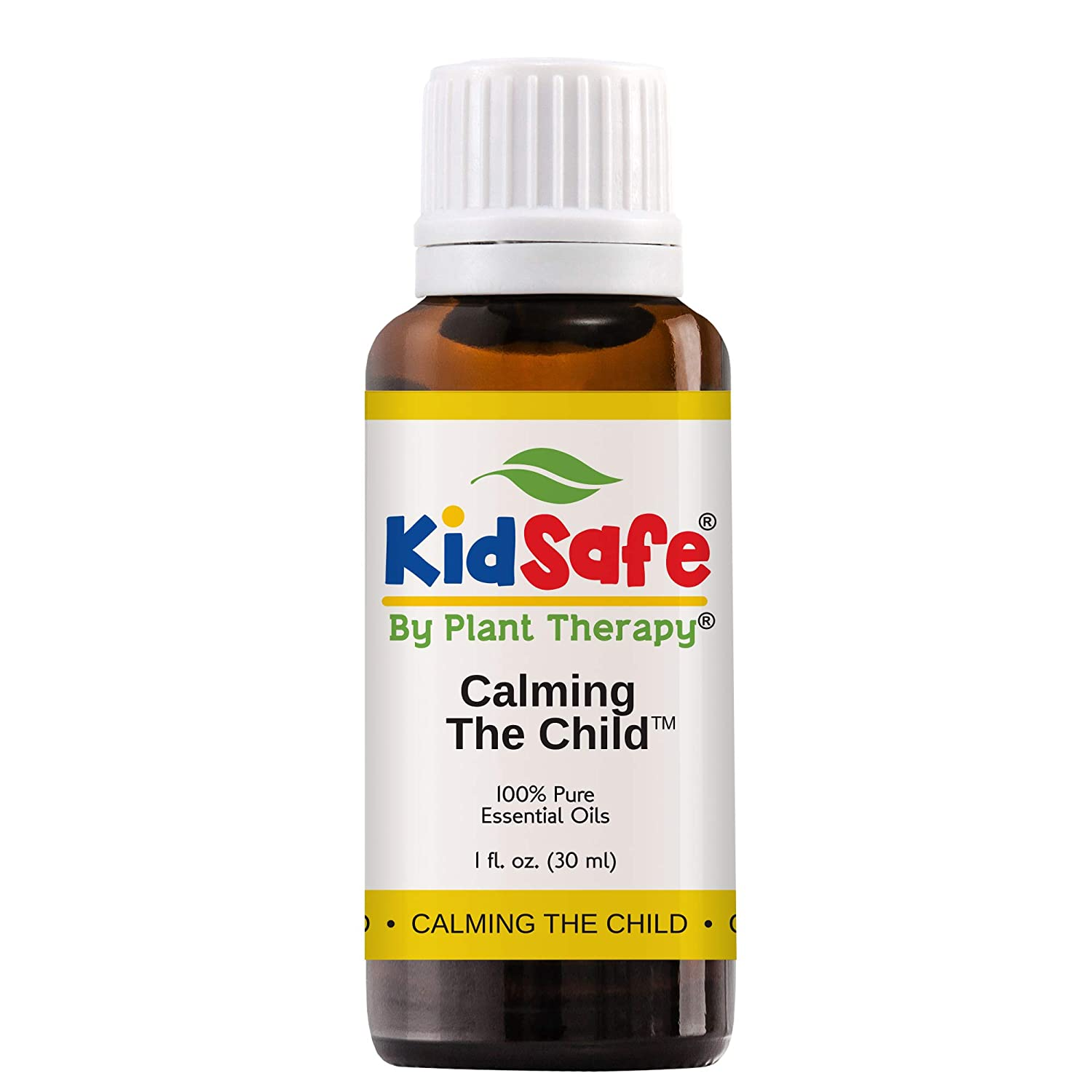 KidSafe Calming the Child Synergy Pre-Diluted Essential Oil Roll-On 10 ml (1/3 fl oz). Ready to use! Plant Therapy Essential Oils