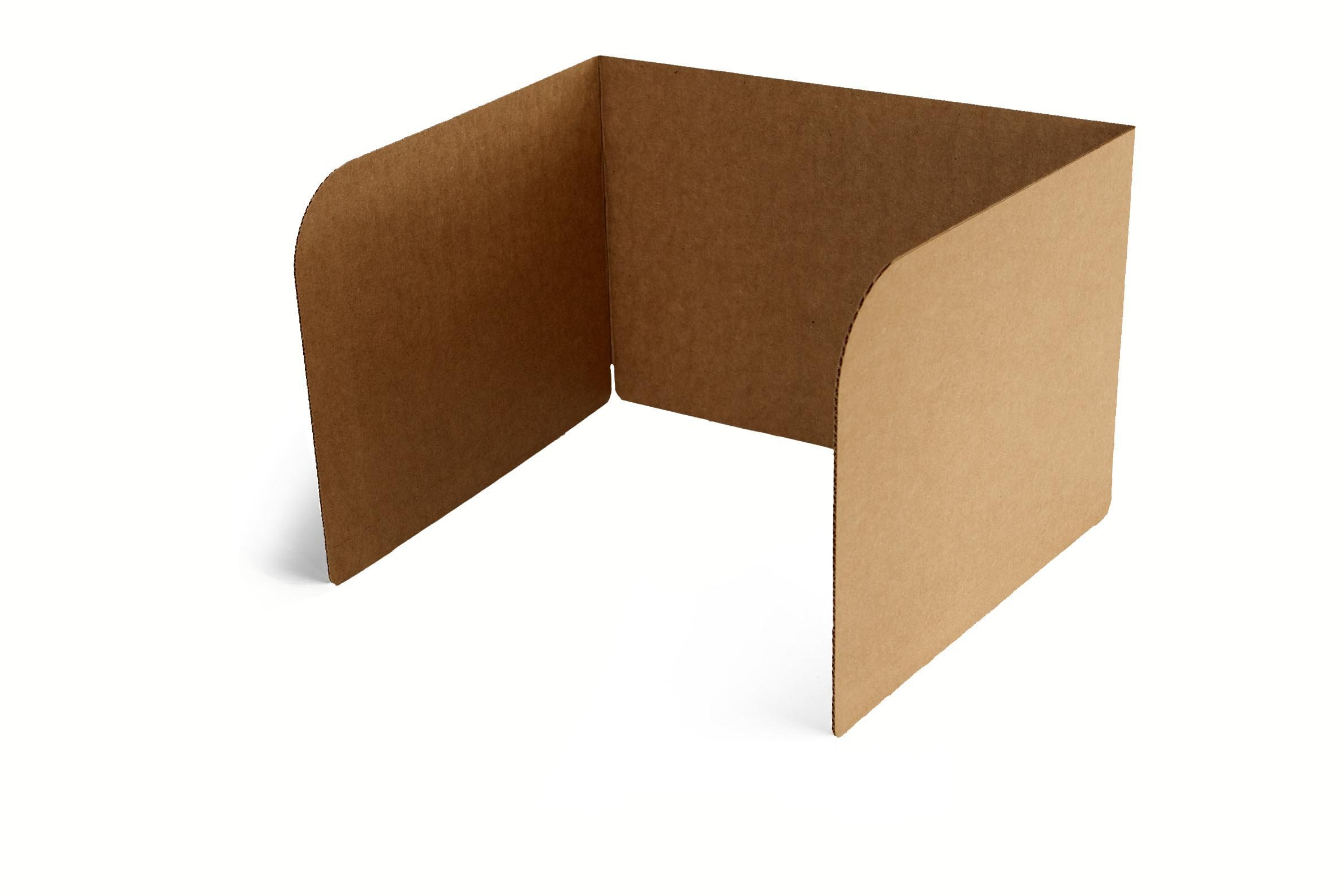 Classroom Products Privacy Shield 13 Inch Tall - Kraft - (Pack of 30)