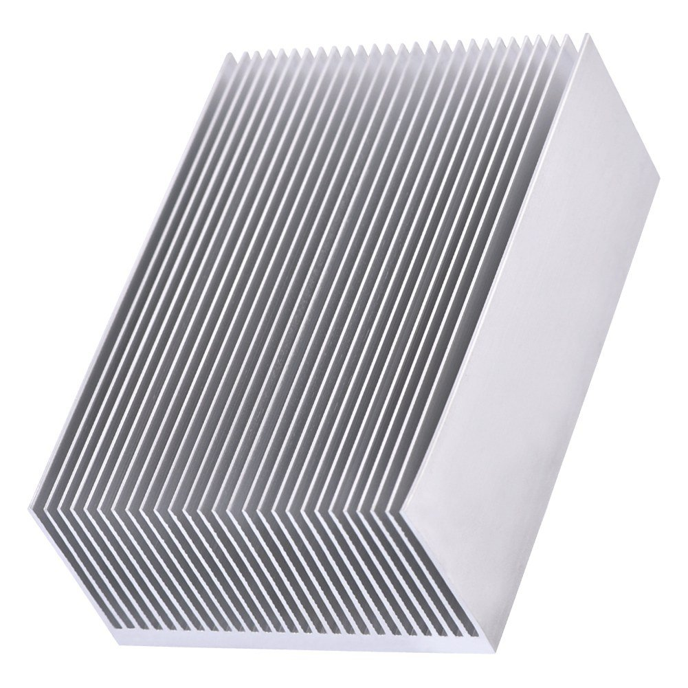 x 69 W H L 1 Set Aluminum Heat Sink Cooling Fin Cooler For Led Amplifier Transistor IC Module Or Computer,100 x 36 mm