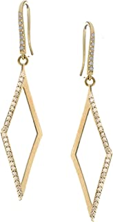 product image for Lana Jewelry- Open Diamond Pave Earrings