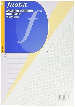 Amazon.com: Filofax – Recambio para agenda (Insert Papel ...