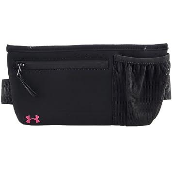 bc6ca0553d45 Under Armour Run Speed Women's Sleek Waist Belt-Black/Pink-Shock ...
