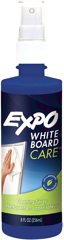 Expo White Board care spray.