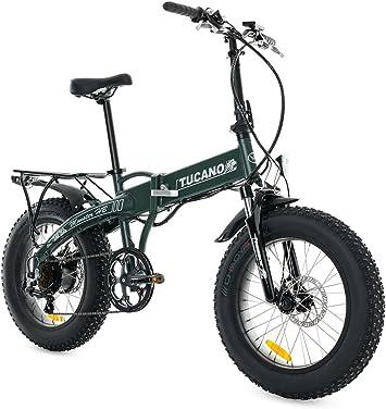Tucano Bikes Monster HB Bicicleta Eléctrica Plegable, Verde (Mate ...