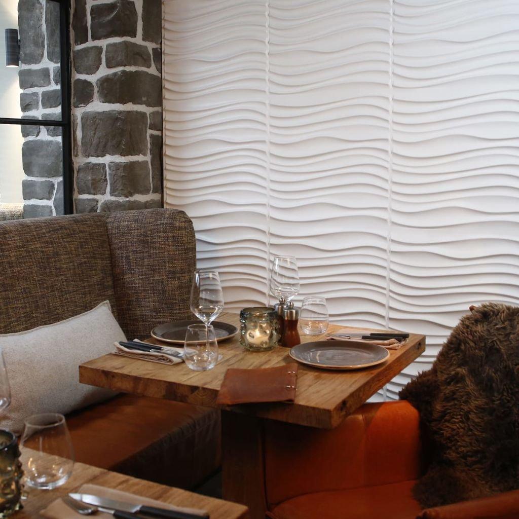 WallArt 24x Paneles de Pared 3D Maxwell Decoraci/ón y Recubrimiento para Paredes Accesorios Materiales de Construcci/ón Bricolaje F/ácil Instalaci/ón