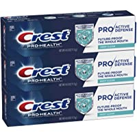 Crest Pro-Health Pro|Active Defense Deep Clean Toothpaste, 4.0 oz, Pack of 3
