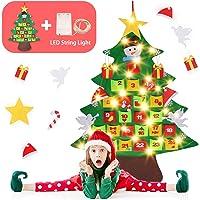 Gosear Fai Sentito Natale Albero Decorazione Natale Partito Parete Appeso Ornamento per Bambini Regalo Casa Ufficio Negozio Finestra Decor