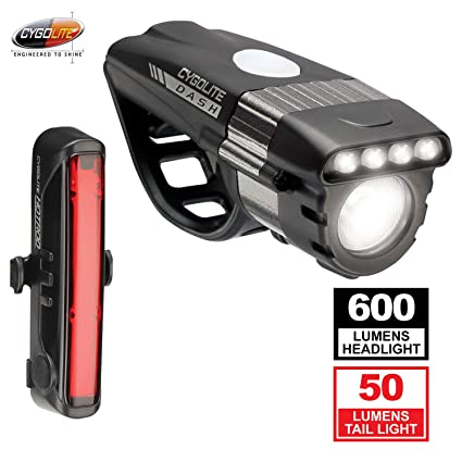 65257b2d5f4 Image Unavailable. Image not available for. Color  Cygolite Dash Pro 600   Hotrod  50 Bicycle Light Combo Set