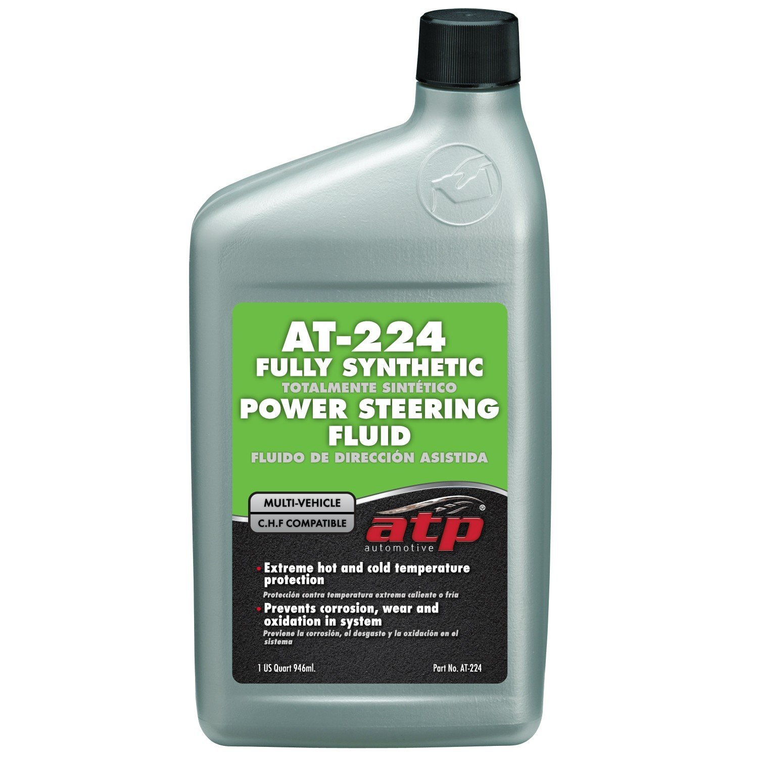 ATP AT-224 Synthetic Power Steering Fluid, 32 fl. oz (CHF Compatible)