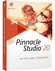 Corel Pinnacle Studio 20 Standard - Software de video (Caja, Inglés, Francés, 3GP, AVCHD, AVI, DivX, H.263, HDV, MPEG1, MPEG2, MPEG4, WMV, AAC, AC3, AMR, M4A, MP3, MPA, Vorbis, WAV, WMA, BMP, GIF, JPG, JPS, PCX, PNG, PSD, TGA, TIF, WMF, PC)