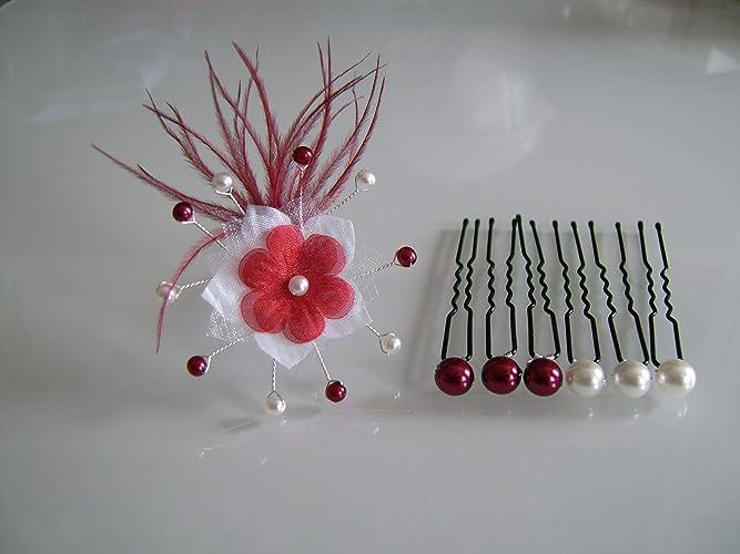 5 Epingles Perles Crèmes Accessoires Cheveux Mariage