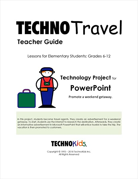 Amazon com : TechnoTravel: Integrated Geography Unit, Grades 6-12
