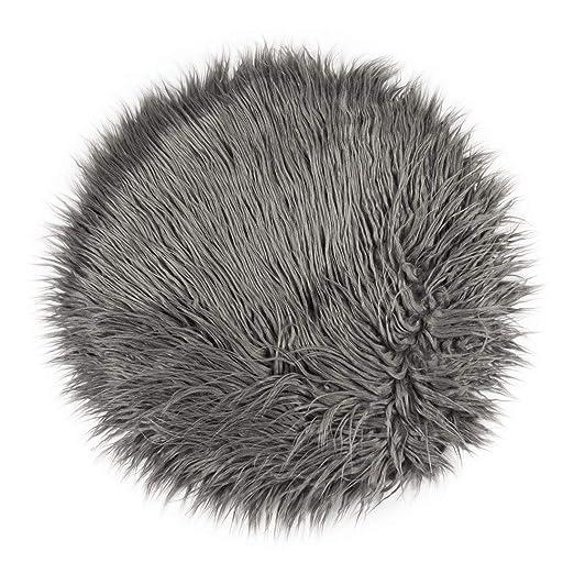 Pad Cojín Fluffy - Diámetro 40 cm x 2 cm - Silla Cojín con ...