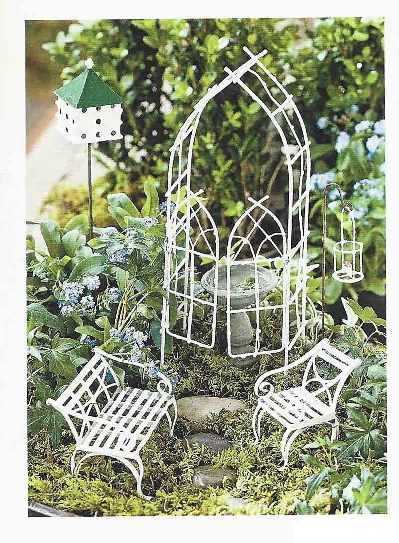 Amazon.com : Willow Miniature Fairy Garden Starter Set : Home And Garden  Products : Garden U0026 Outdoor