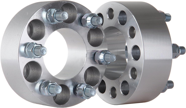 OCPTY 4 2 50mm Hubcentric Wheel Spacers W//O Lip 1//2x20 Studs 6x4.5 to 6x4.5 6 Lug Replacement fit for 1991-2004 Dodge Dakota