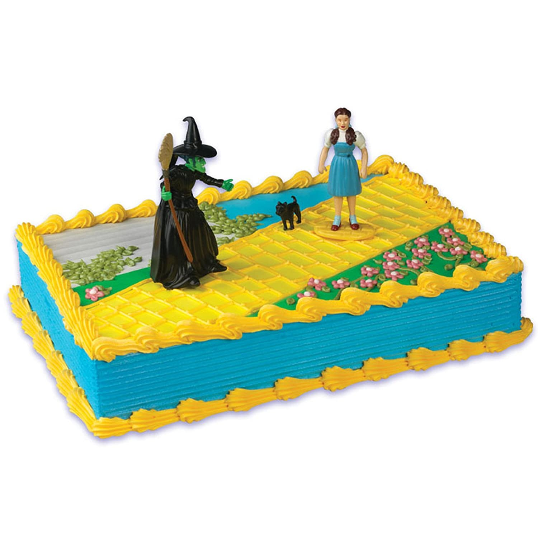 Peachy Wizard Of Oz Cake Topper Amazon Co Uk Toys Games Funny Birthday Cards Online Bapapcheapnameinfo