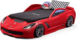 Step2 Corvette Z06 Toddler Bed to Twin Bed