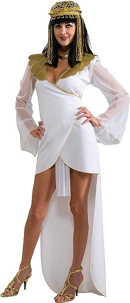 Disfraz de Reina del Nilo Egipcia para mujer, Talla única adulto ...